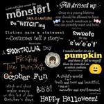 {Wordart} October Fun!