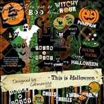 Carmensita Kit - This is HALLOWEEN wordart
